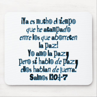 Psalm 120:6-7 mouse pad
