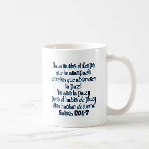 Psalm 120:6-7 mugs