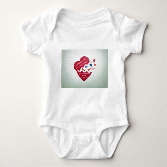 Psalm 139:14 baby bodysuit