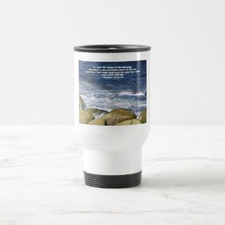 Psalm 139:9-10 travel mug