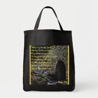 Psalm 139 Grocery Tote