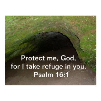 PSALM 16:1 POSTCARD