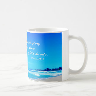 Psalm 19:1 coffee mug