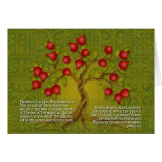 Psalm 1 card