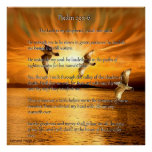 Psalm 23:1-6 The Lord Is My Shepard Poster