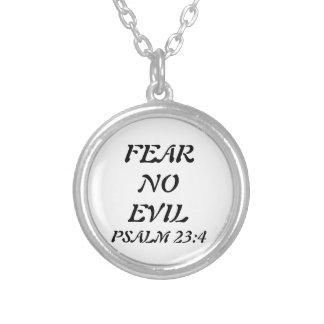 Psalm 23:4  Bible Verse Necklace