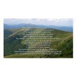 Psalm 23 - Christian Business Card