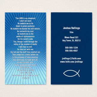 Psalm 23   Christian Business Card