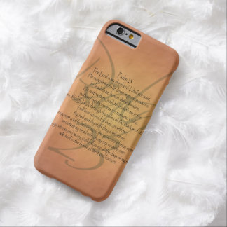 Psalm 23 KJV Christian Bible Verse Religious Barely There iPhone 6 Case