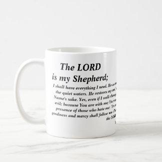 Psalm 23- modern version- Mug