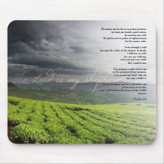 Psalm 23 & Vines Mousepads