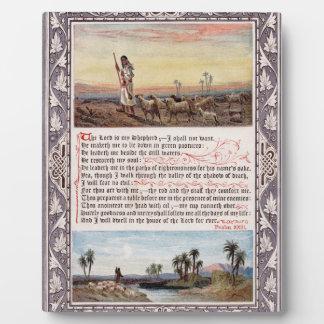 Psalm 23 Vintage Plaque
