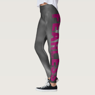 "Psalm 27:1 ""Fearless"" leggings"