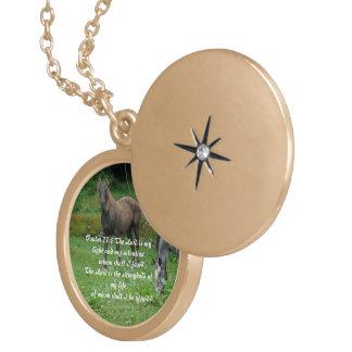 Psalm 27:1 custom jewelry