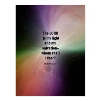 Psalm 27:1 postcards