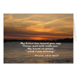 Psalm 28 Note Card