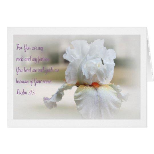 Psalm 31:3 card