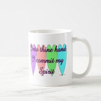 "Psalm 31.5 ""Into Thine Hand... Coffee Mugs"