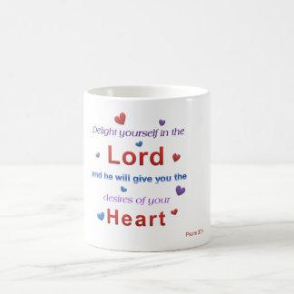 Psalm 37:4 Mug