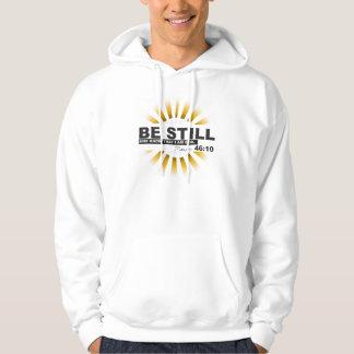 Psalm 46:10 Basic Hooded Sweatshirt
