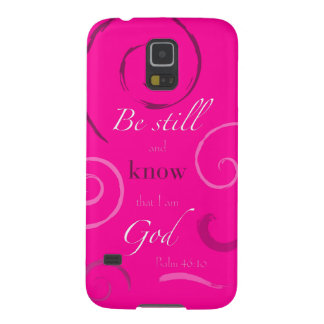 Psalm 46:10 Choose your own color! Customizable Case For Galaxy S5