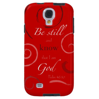 Psalm 46:10 Choose your own color! Customizable Galaxy S4 Case