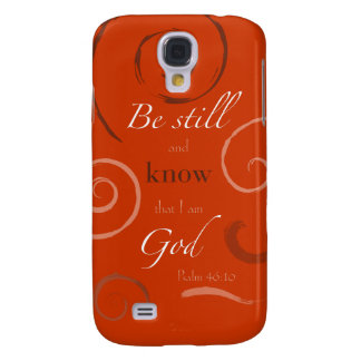 Psalm 46:10 Choose your own color! Customizable Galaxy S4 Cover