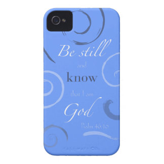 Psalm 46:10 Choose your own color! Customizable iPhone 4 Case-Mate Cases