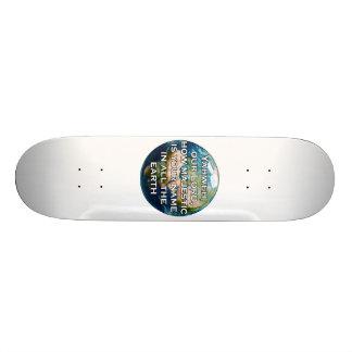 Psalm 8:1 Skateboard