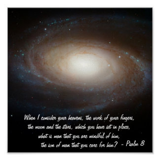 Psalm 8 poster