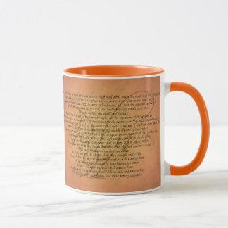 Psalm 91 Bible Verse Mug