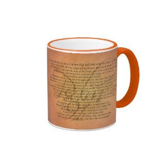 Psalm 91 Bible Verse Ringer Mug