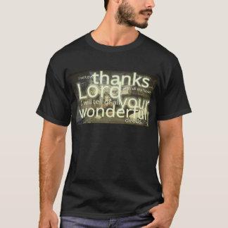 Psalm 9:1 T-Shirt