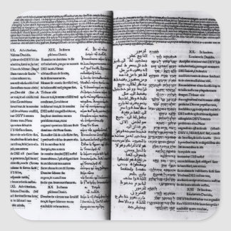 Psalm of David: Psalterim Octaplums, 1516 Square Stickers