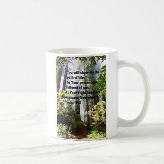 Psalm Path of Life Coffee Mug