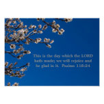 Psalms 118:24 poster