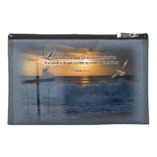 Psalms 19:14 - Travel Accessory Bag