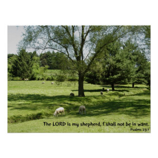 Psalms 23:1 posters