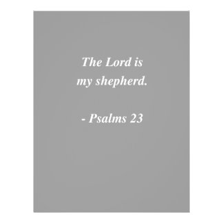 PSALMS 23 Bible Verse Flyer