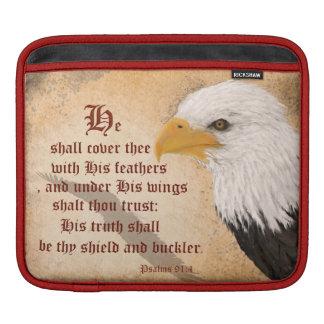 Psalms 91:4 iPad sleeves