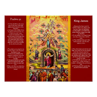Psalms chapter 91 Posters 2