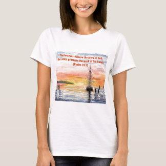 'Psalms & Watercolours' T-Shirt
