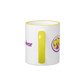 Pseudomyxoma Survivor small ringer mug