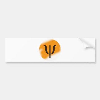 Psi Bumper Sticker