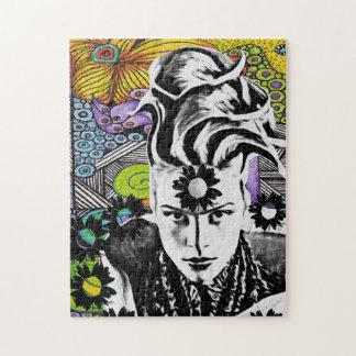 Psicodelic Pop Woman Puzzle