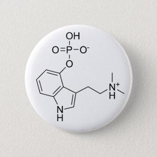 psilocybin 6 cm round badge