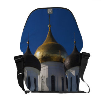 Pskov Kremlin and Trinity Cathedral 2 Courier Bag
