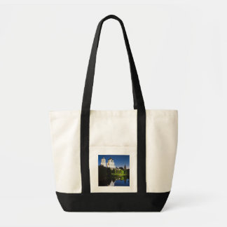 Pskov Kremlin and Trinity Cathedral reflected Bag