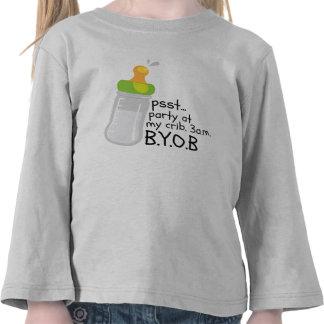 PSST. Party At My Crib. 3AM BYOB Shirt