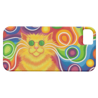 Psy-cat-delic iPhone 5 case horizontal